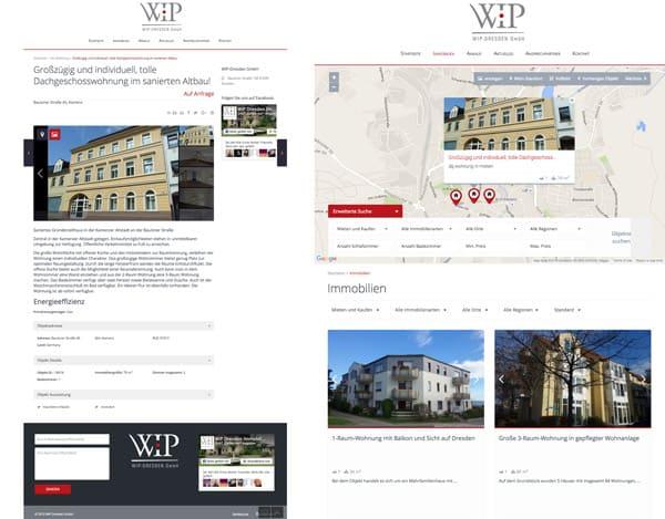 WIP Dresden Website