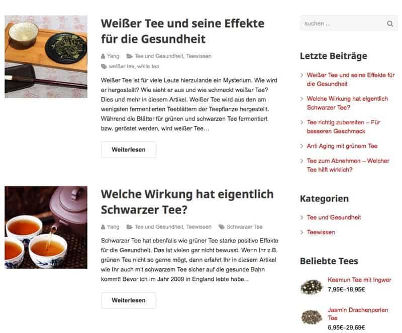 Tee Blog Teelicious