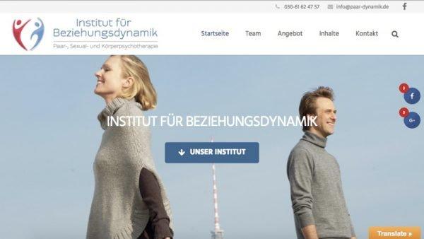 Relaunch Beziehungsdynamik neue Website unter www.beziehungsdynamik.de