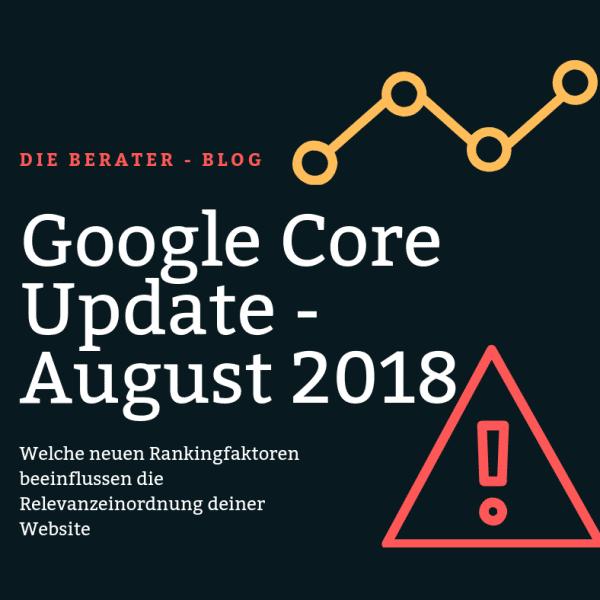 google core update august 2018