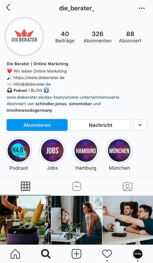 Die Berater Online Marketing