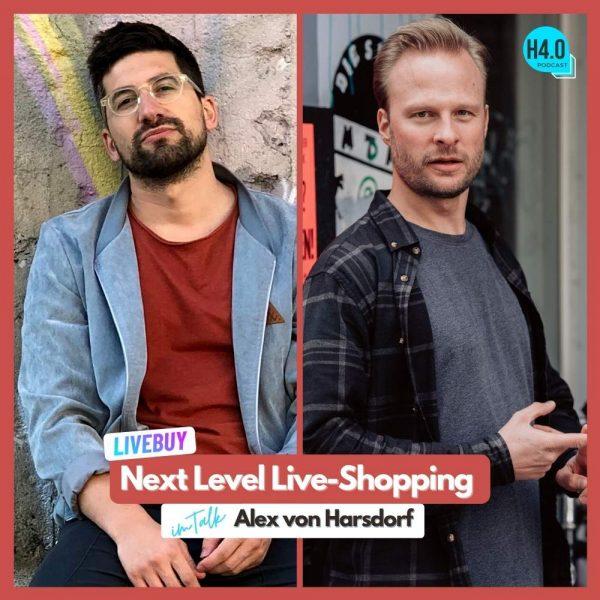 live shopping mit live buy im podcast